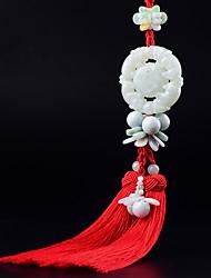 Недорогие -Diy автомобильные подвески храбрые войска ручной работы китайский узел кисточка модный богатство счастливый кулон