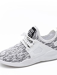 Women's Athletic Shoes Comfort Light Soles Knit Summer Fall Casual Outdoor Dress Flat Heel Blushing Pink Gray Black Flat