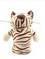 Недорогие -Пальцевые куклы Утка Лошадь Лев Овечья шерсть Зебра Обезьяна Tiger Животные Милый Хлопковая ткань Взрослые Подарок