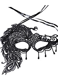 cheap -Halloween Masks Holiday Props Sexy Lace Mask Toys Party Novelty Lace Horror Pieces Ladies' Gift