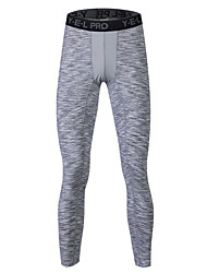 cheap -Men's Running Tights Gym Leggings Sweat-wicking Safety Push Up Casual Tights Bottoms Yoga Running/Jogging Exercise & Fitness Back Country