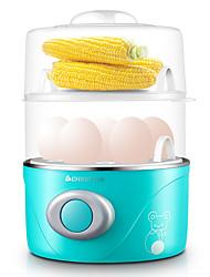 Eierkocher Doppel-Eierstöpsel Neuheiten für die Küche 220VNiedrige Vibration Licht und Bequem Niedlich Geräuscharm Licht-Spannungsanzeige
