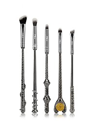preiswerte -Msq 5 Augenschatten Pinsel Gold und Silber 2-farbig optional Harry Potter Magic Szepter Augen Make-up Pinsel