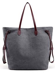 cheap -Women Bags Canvas Shoulder Bag for Casual All Seasons Blue Gray Purple Coffee