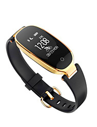 cheap -Smart Bracelet Heart Rate Monitor Water Resistant / Water Proof Calories Burned Pedometers Exercise Record Anti-lost Camera Control