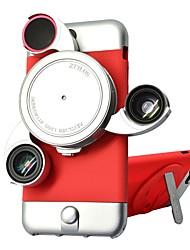 Lenti per fotocamera smartphone ztylus Obiettivo a macroistruzione da 0.45x grandangolare 10x per iphone6 / 6s