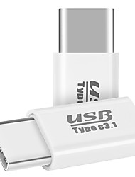 Micro USB 2.0 Adapter, Micro USB 2.0 to USB 2.0 Typ C Adapter Male - Female