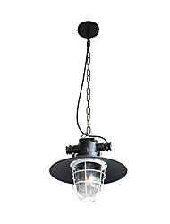 cheap -YY  DT-38 110V 220V Pendant Lamp Retro Iron Shape Hanging Light Loft Pendant Lamp Adjustable Cafe Light Fixture Chandelier