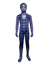 cheap -Spider Cosplay Costume Movie Cosplay Leotard/Onesie Zentai Halloween Carnival Children's Day Lycra Spandex