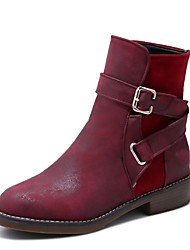 cheap -Unisex Boots Comfort Gladiator Cowboy / Western Boots Snow Boots Riding Boots Fashion Boots Motorcycle Boots Bootie Combat Boots Formal