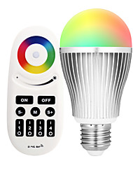 cheap -9W E27 LED Smart Bulbs A60(A19) 20 leds SMD 5730 Infrared Sensor Dimmable Remote-Controlled WIFI APP Control Light Control Dual Light