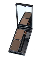 Two-Color Three-Dimensional Modeling Eyebrow Powder Eyebrow Cream Come With Eyebrow Eyebrow Pencil