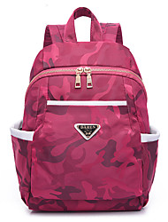 cheap -Women's Bags Oxford Cloth Backpack for Event / Party / Outdoor / Office & Career Black / Amethyst / Fuchsia
