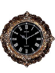 Moderne/Contemporain Traditionnel Rustique Décontracté Rétro Bureau / Affaires Animal Horloge murale,Circulaire Animal Résine Intérieur
