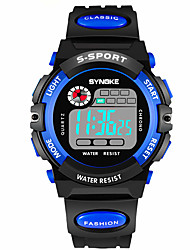 cheap -Smart Watch Water Resistant / Water Proof Long Standby Multifunction Sports Timer Alarm Clock Chronograph Calendar No Sim Card Slot