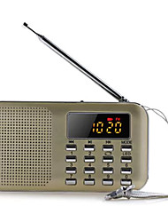 Yimeida Y-896 Portable Radio Two Bands   Mini Ultra Thin Card Subwoofer FM  AM