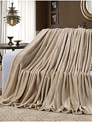 cheap -Super Soft Solid Polyester Blankets