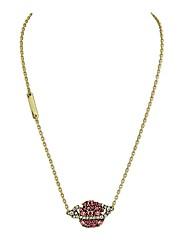 Недорогие -Жен. Сердце Классический Любовь Ожерелья с подвесками Синтетический алмаз Стразы Сплав Ожерелья с подвесками , Повседневные