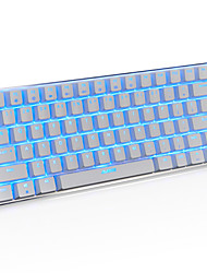 cheap -AJAZZ Wired RGB Backlit Blue Switches 82 Mechanical Keyboard Backlit Programmable