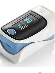 cheap -RZ001 OLED Display Fingertip Pulse Oximeter SpO2 Oxygen Monitor for Healthcare Home Use - COLORMIX