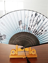 cheap -Fans and parasols-Piece/Set Hand Fans Beach Theme Garden Theme Butterly Theme Classic Theme Wedding Vintage Theme Rustic Theme Tassel