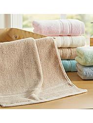 Недорогие -Полотенца для мытья,Однотонный Высокое качество 100% хлопок Полотенце