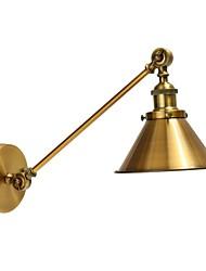 preiswerte -Vintage Metall Wandleuchte montiert retro industrielle Wand Licht Lampe Schatten verstellbaren Nachtbeleuchtung Leuchten
