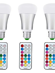 cheap -10W E27 LED Globe Bulbs A70 1 leds COB Dimmable Decorative RGB+Warm 1000lm +3000K AC85-265V