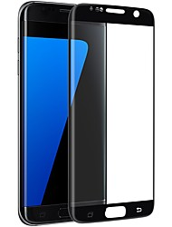 Vidrio Templado Protector de pantalla para Samsung Galaxy S7 edge Protector de Pantalla, Integral Borde Curvado 2.5D A prueba de