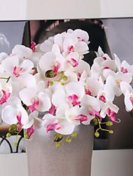 Недорогие -5 Филиал Шелк Искусственные Цветы