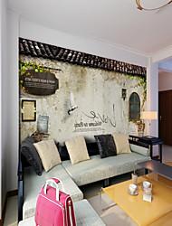 abordables -Art Decó 3D Clásico Fondo de pantalla Para el hogar Retro Oriental Tradicional Revestimiento de pared , Lienzo Material adhesiva requerida