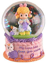 abordables -Balles Boîte à musique Canard Articles d'ameublement Adultes Enfants Cadeau Cristal Femme Fille