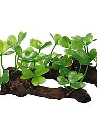 cheap -Aquarium Decoration Plants Plastic