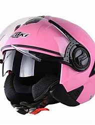 cheap -Nenki 622  Motorcycle Helmet Man Half-Covered Warm-Up Electric Car Helmet Lady Winter Helmet