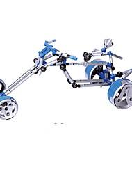 cheap -Display Model Building Blocks Educational Toy DIY Car Motorcycle Children's Gift