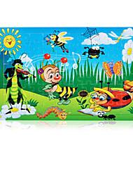 abordables -Puzzle Rabbit Autres Soleil Fleur En bois Unisexe Cadeau
