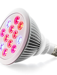 cheap -1pc 900 lm E26/E27 LED Grow Lights 24 leds High Power LED Red Blue AC85-265 AC 85-265V