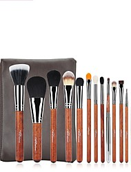 cheap -1set Makeup Brush Set Others Easy Carrying Multi-tool Easy to Carry Wood Men Face Men and Women Daily Eyes Lips Lip Health&Beauty General