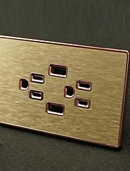 Sorties électriques Style Moderne Avec prise USB Charger 12*7*4.4