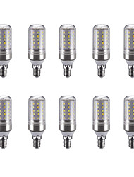 5W E14 Ampoules Bougies LED C35 25 diodes électroluminescentes SMD 2835 Blanc Chaud Blanc Froid Blanc Naturel 450lm 4500K 220V