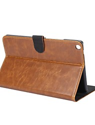 cheap -Solid Crazy Ma Pattern Genuine Leather Case with Stand for Huawei MediaPad T3 8.0 inch Tablet PC