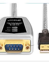 Недорогие -USB 2.0 Адаптер, USB 2.0 to RS422 RS485 Адаптер Male - Male 1.8M (6 футов)