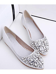 Women's Shoes Real Leather PU Spring Summer Comfort Flats For Casual Gold Silver Blushing Pink