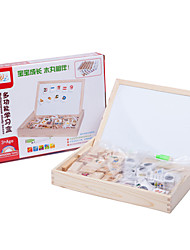 cheap -Building Blocks For Gift  Building Blocks Natural Wood 6 Years Old and Above 3-6 years old Toys