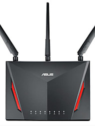 Asus rt - ac86u wireless ac 2900mbps gigabit roteador dual core 1.8g 1000m vpn