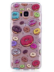 Недорогие -Кейс для Назначение SSamsung Galaxy S8 Plus S8 IMD Прозрачный С узором Задняя крышка Продукты питания Мягкий TPU для S8 S8 Plus