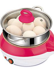 Eierkocher Single Eggboilers Multifunktion Kreativ Aufrechtes Design Geräuscharm Licht-Spannungsanzeige Abnehmbar 220V