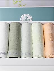 Serviette,Solide Haute qualité Mélangé polyester/coton Serviette