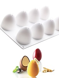 cheap -Silicone 3D Egg Shape Mould For Chocolate  Eggs Truffle Mousse Mold