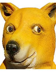 Недорогие -Маски на Хэллоуин Животная маска Собаки Ужасы клей Куски Взрослые Универсальные Игрушки Подарок